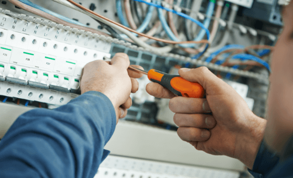 commercial electrical installation services andover